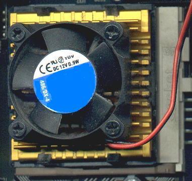 CPU mit Lüfter