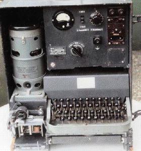 Mechanischer Hell-Schreiber von 1944, Bild: ZL1BPU